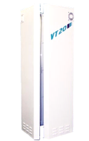 The VT20 sunroom - a sophiscated vertical tanning unit - The design ensures total surround full body tanning - from Sun Centre, Sunbed Hire, Dublin